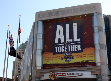 Cleveland Cavs - All Together for the playoffs