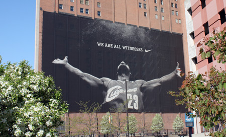 We are all witnesses - Lebron James