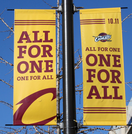 Cleveland Cavs - All for one
