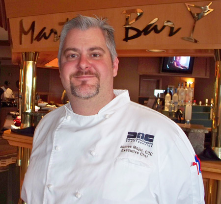 Chef James Major - Cleveland Indians