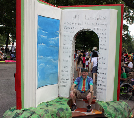Big book at Parade