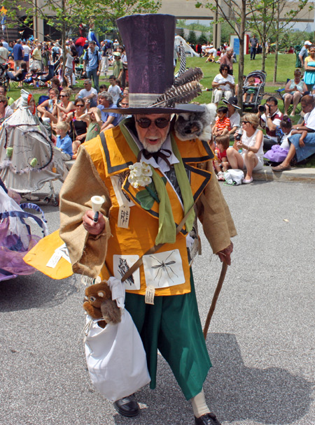 Mad hatter at Parade the Circle in University Circle