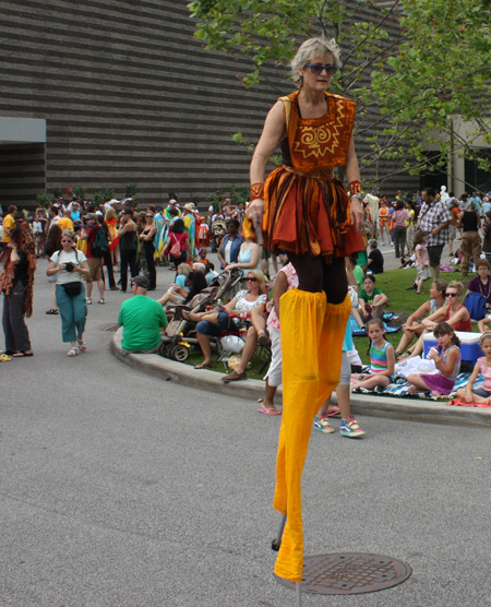 Parade Artistic Director Robin VanLear from the Cleveland Museum of Art