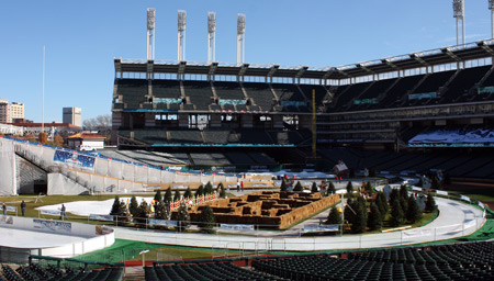 Snow Days at Progressive Field - Cleveland Indians