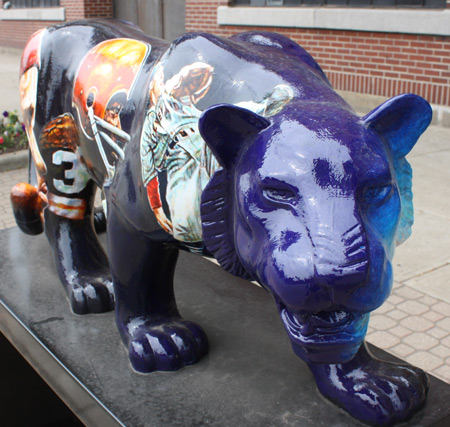 Chinese Year of the Tiger Cleveland Public Art Sculptures - photos by Dan Hanson