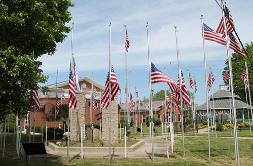 9-11 and World Trade Center Memorial in Eastlake Ohio