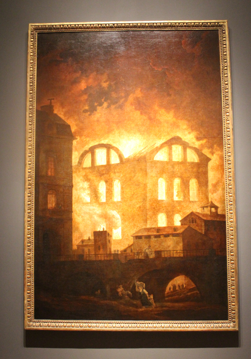The Fire at the Opera House of the Palais-Royal