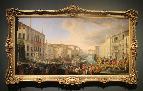 The Regatta on the Grand Canal in Honor of Frederick IV, King of Denmark at Eyewitness Views: Making History in Eighteenth-Century Europe