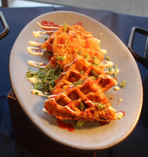 Chicken and Tater Tot Waffles