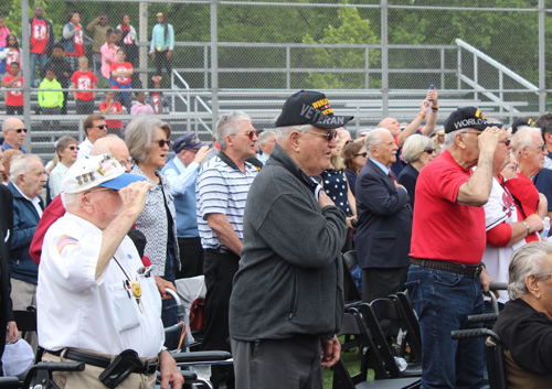 National Anthem at D-Day rememberance