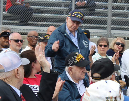 Bob Allen, 1 of 2 survivors of the USS Cleveland which earned 13 battle stars in WWII