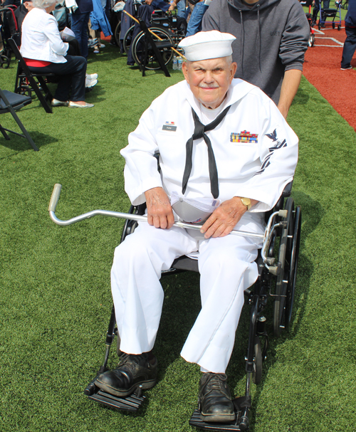 Thank you to this World War II veteran and all the others