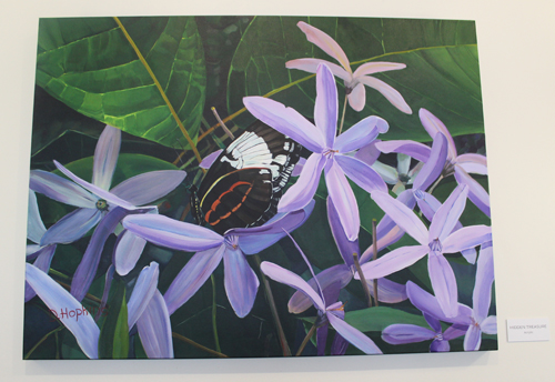 Orchid Mania painting