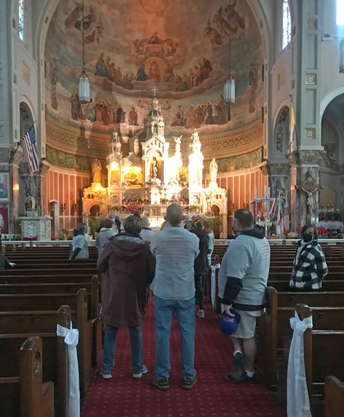 Touring St. Casimir Church