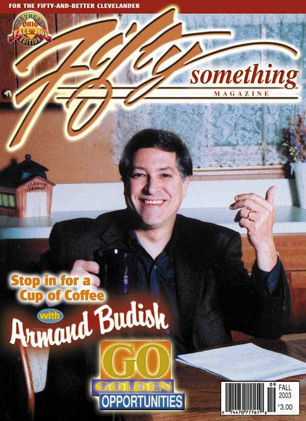 Armond Budish on cover
