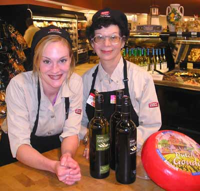 Giant Eagle Legacy Village Cheesemongers Liz and Lorraine