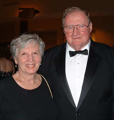 Amy and Michael Kenneley at the Mayo Ball in 2007