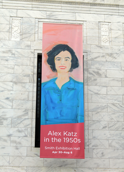 Alex Katz exhibit at Clevelamd Museum of Art