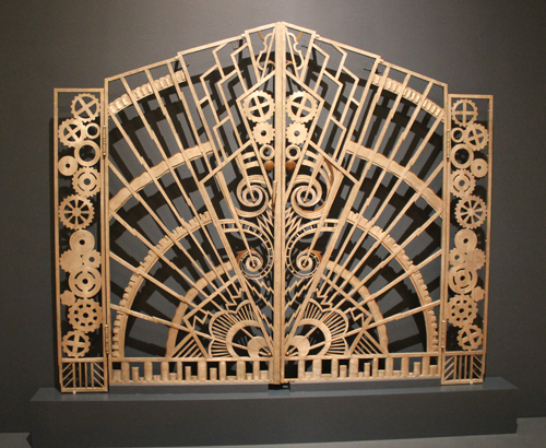 Pair of Gates from the Chanin Building, New York City 1928