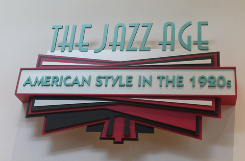 The Jazz Age exhibit at the Cleveland Museum of Art