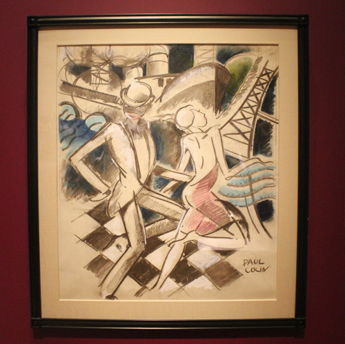 Jazz Dancers at Jazz Age exhibit at Cleveland Museum of Art