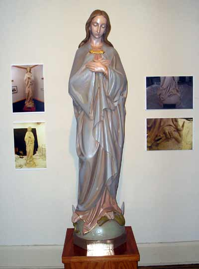 Sculpture of the Blessed Virgin Mary