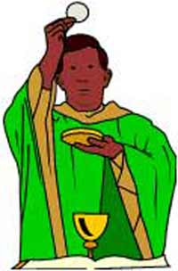 Catholic Priest clipart