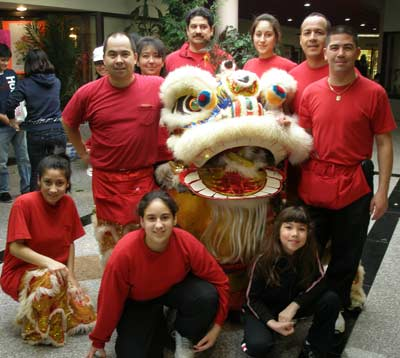 The Kwan Family Lion Dance Team