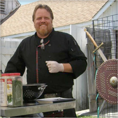 Celtic Caterer Chef Eric W. McBride