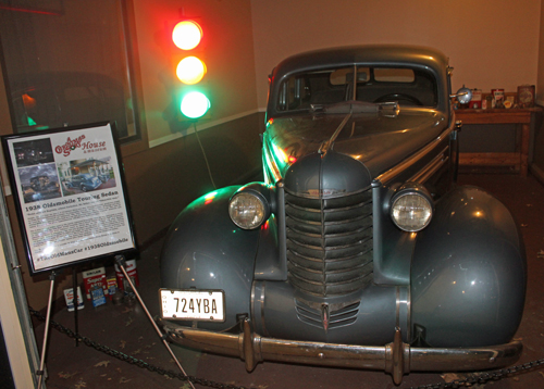 A Christmas Story Museum - 1938 Olds Sedan
