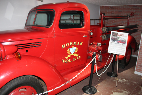 A Christmas Story Museum - 1939 Ford Fire Truck