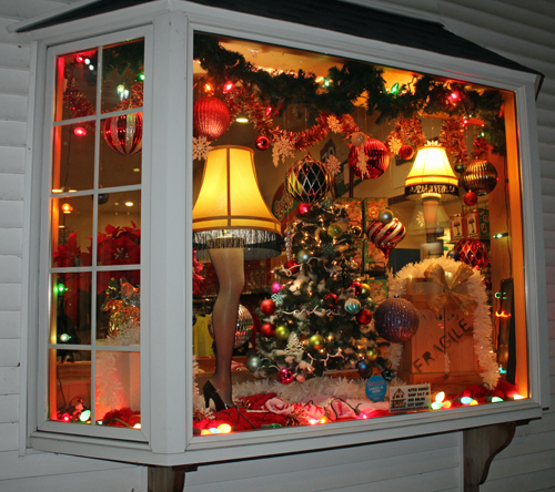 A Christmas Story House giftshop window
