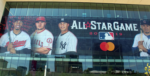 2019 Major League Baseball All-Star Game Banner