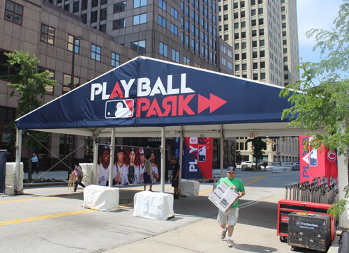 Play Ball Park entrance