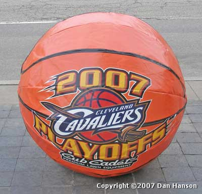 Cleveland Cavaliers Playoff ball - 2007 Playoffs