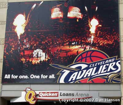 Cleveland Cavaliers - All For One