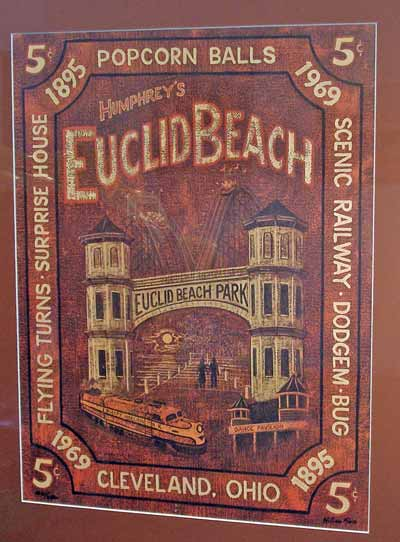 Euclid Beach poster - how about a 5 cent popcorn ball?