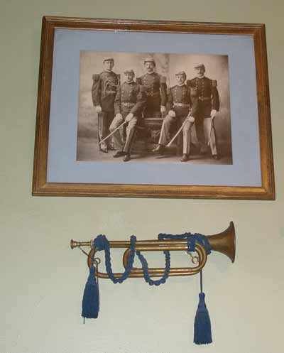 Inside the The Cleveland Grays Armory Museum