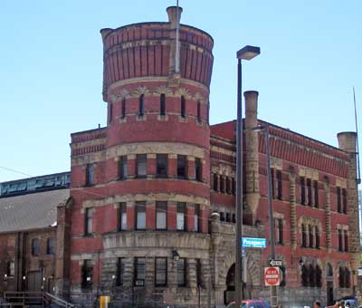 The Cleveland Grays Armory at Bolivar and Prospect
