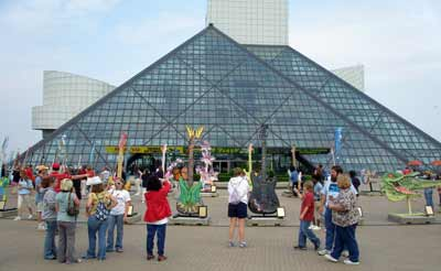 Guitarmania at the Rock and Roll Hall of Fame and Museum in Cleveland