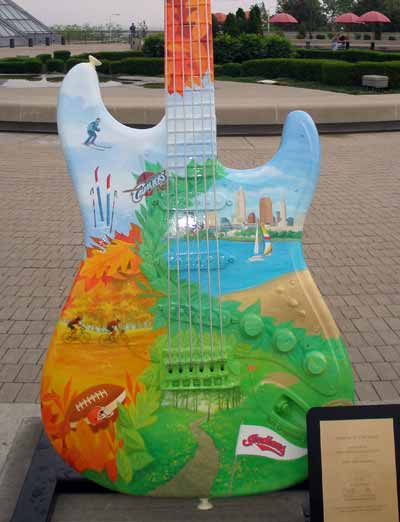 The seasons of Cleveland Guitar at Guitarmania in Cleveland