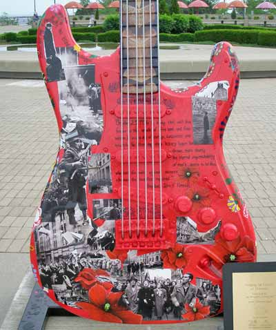 Hungarian Revolution  Guitar at Guitarmania in Cleveland