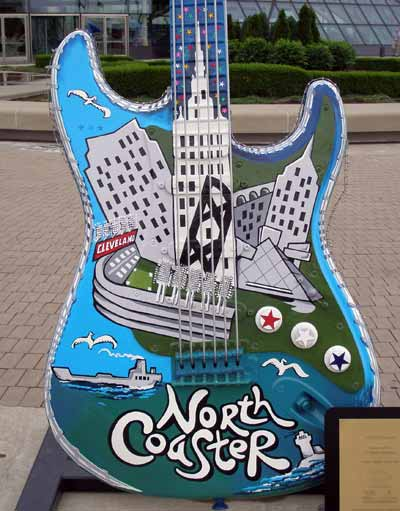 North Coaster guitar at Guitarmania in Cleveland