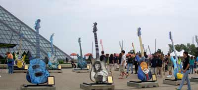 Guitarmania 2007 at the Rock and Roll Hall of Fame in Cleveland