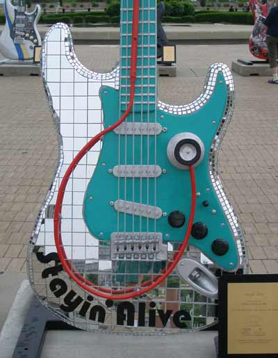 Staying Alive Guitar at Guitarmania