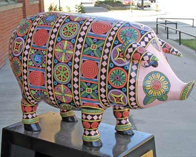A Pig of a Different Color at 1900 Superior