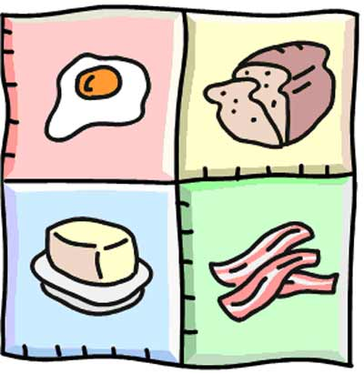 4 food group clipart