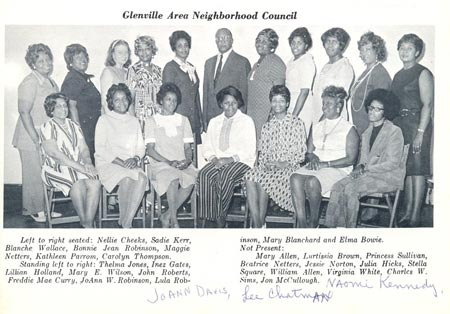 Glenville Area Neighborhood Council 1971