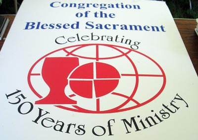 Blessed Sacraments 150th anniversary