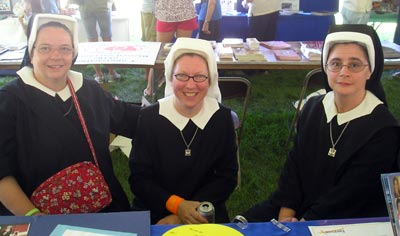Sisters of the Holy Spirit - Sister Colleen Maria, Therese Rose and Catherine Gray